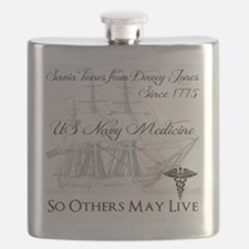 Saving Bones from Davey Jones II Flask