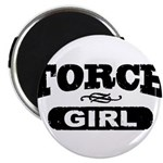 Torch Girl Magnets