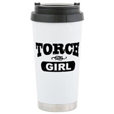 Torch Girl Travel Mug