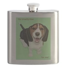 Cool Animal rights Flask