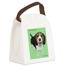 Cool Animal cruelty Canvas Lunch Bag