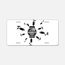 NSA Comedy Show Aluminum License Plate