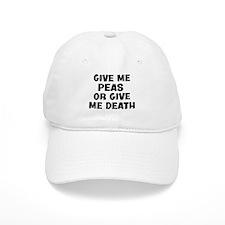 Give me Peas Baseball Cap