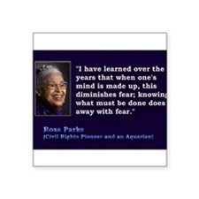 Rosa Parks Quote ~ Sticker