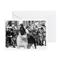Militant Boston - Greeting Cards (Pk of 10)