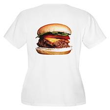 Women's Mom 'n' Pop Hamburger Stand T-Shirt