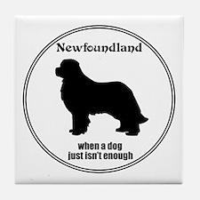 Newf Enough Tile Coaster