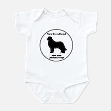 Newf Enough Infant Bodysuit