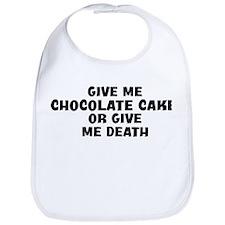 Give me Chocolate Cake Bib
