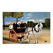 Henri Rousseau - Old Juni Postcards (Package of 8)