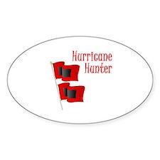 Hurricane Hunter Oval Decal