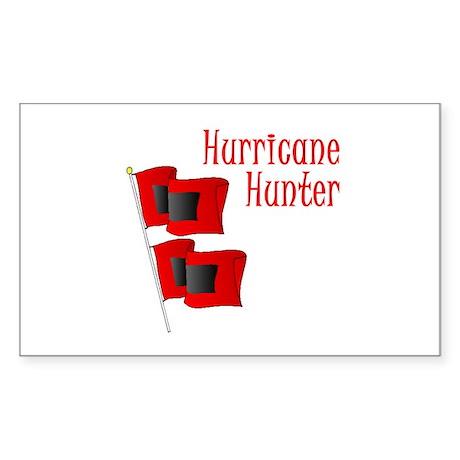 Hurricane Hunter Rectangle Sticker