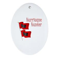 Hurricane Hunter Oval Ornament