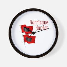 Hurricane Hunter Wall Clock