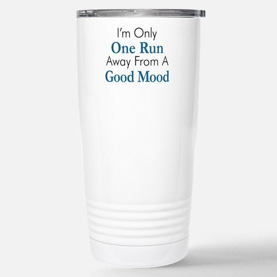 One Run Away Good Mood Travel Mug