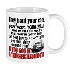 Trucker Hauled It Mugs