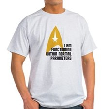 Star Trek - Normal Parameters T-Shirt