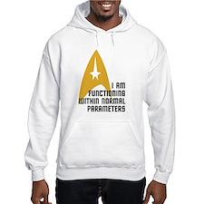 Star Trek - Normal Parameters Hoodie