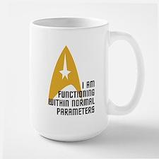 Star Trek - Normal Parameters Ceramic Mugs