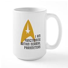 Star Trek - Normal Parameters Mug