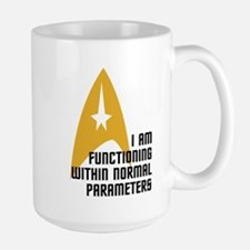 Star Trek - Normal Parameters Mug