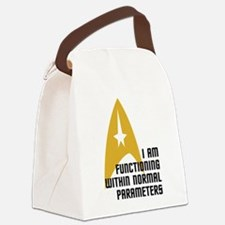 Star Trek - Normal Parameters Canvas Lunch Bag