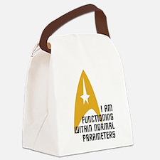 Star Trek - Normal Parameters Canvas Lunch Bag