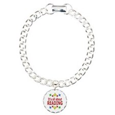 Shiny About Reading Bracelet