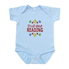 Shiny About Reading Infant Bodysuit