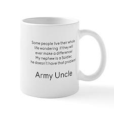 Army Uncle No Problem Nephew Mugs
