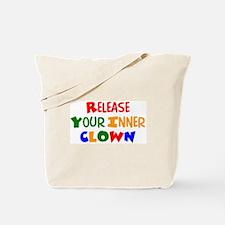 inner clown Tote Bag