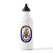 USS Missouri BB-63 Water Bottle