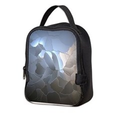 Cracked Pearl Neoprene Lunch Bag