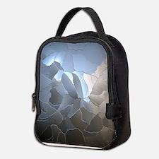 Cracked Pearl Neoprene Lunch Bag