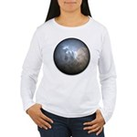 Cracked Pearl Women's Long Sleeve T-Shirt