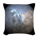 Cracked Pearl Woven Throw Pillow
