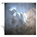 Cracked Pearl Shower Curtain