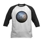 Cracked Pearl Kids Baseball Jersey
