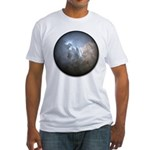 Cracked Pearl Fitted T-Shirt