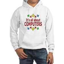 Shiny About Computers Hoodie