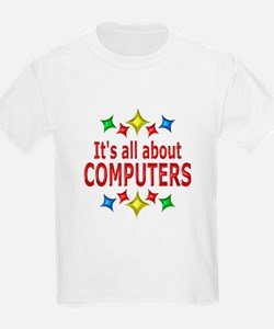 Shiny About Computers T-Shirt