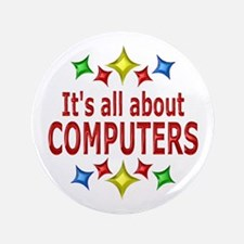 """Shiny About Computers 3.5"""" Button"""