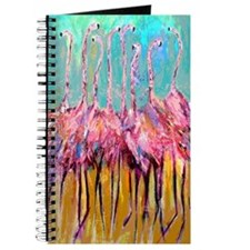 Flamingo Parfait Journal