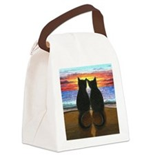 Cat 340 Canvas Lunch Bag