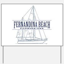 Fernandina Beach- Yard Sign