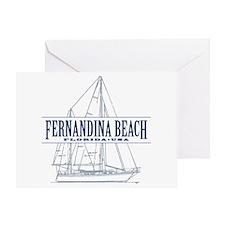 Fernandina Beach- Greeting Card