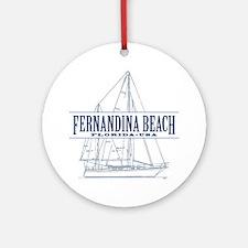 Fernandina Beach- Ornament (Round)