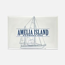 Amelia Island - Rectangle Magnet