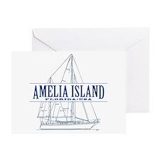 Amelia Island - Greeting Card