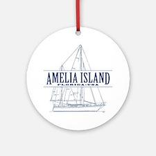 Amelia Island - Ornament (Round)
